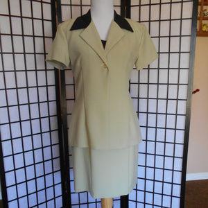 Pretty  2 PC Dress Suit  Size 12